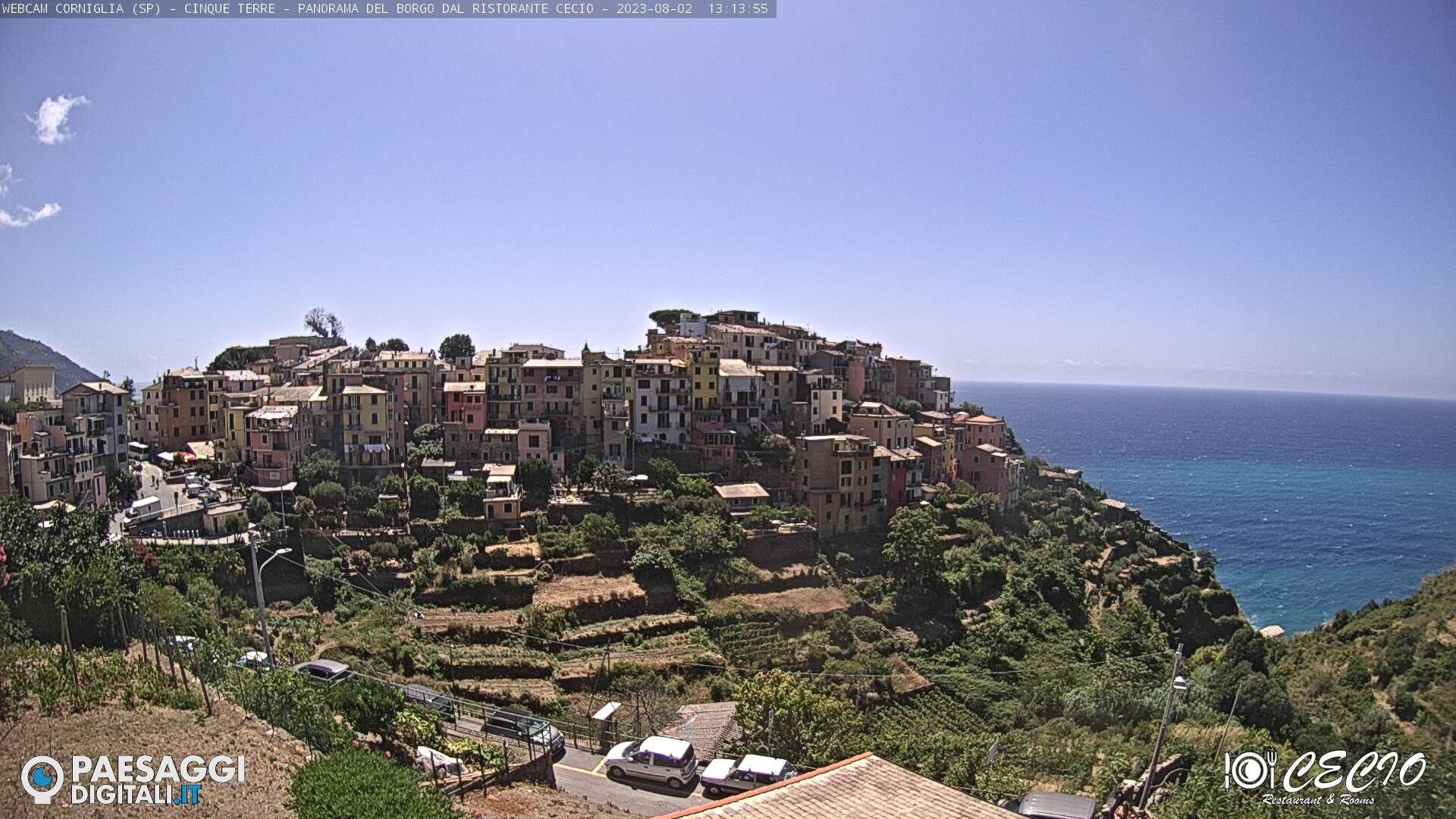 Webcam à Manarola, Cinque Terre