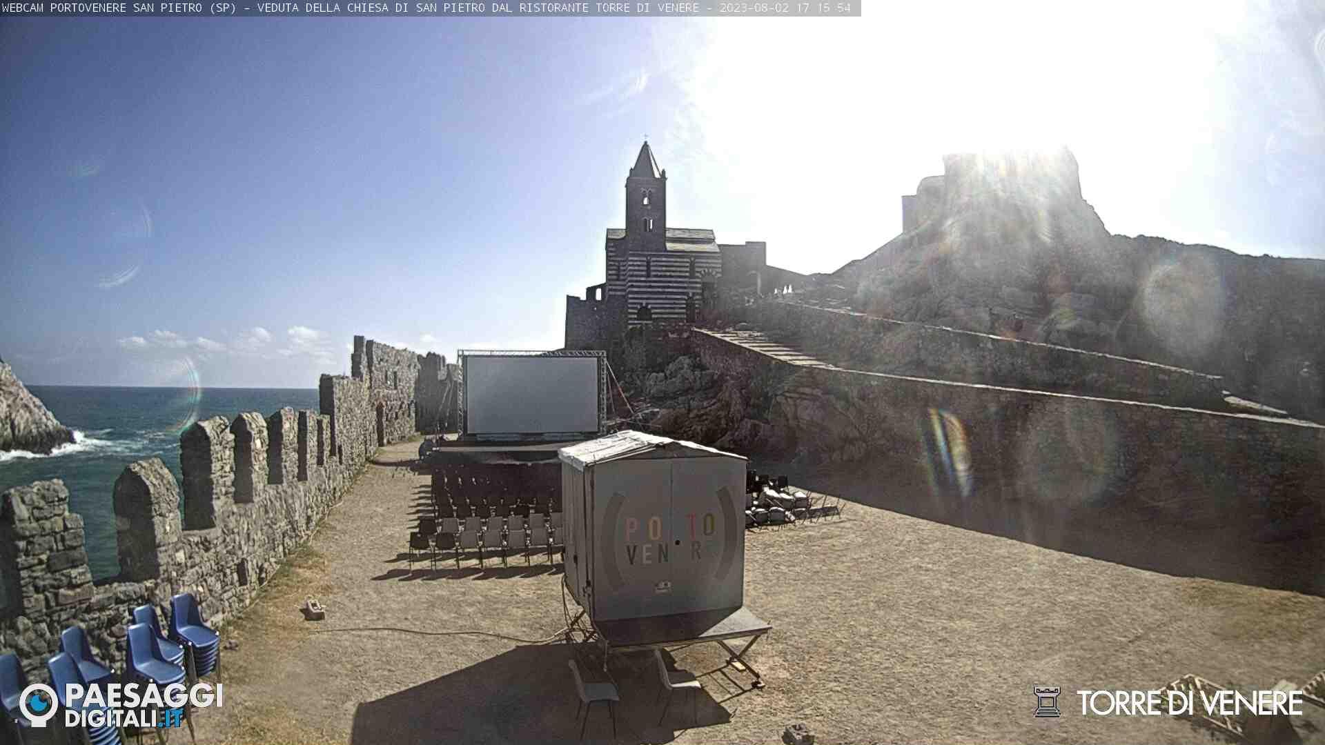 Webcam Portovenere, San Pietro